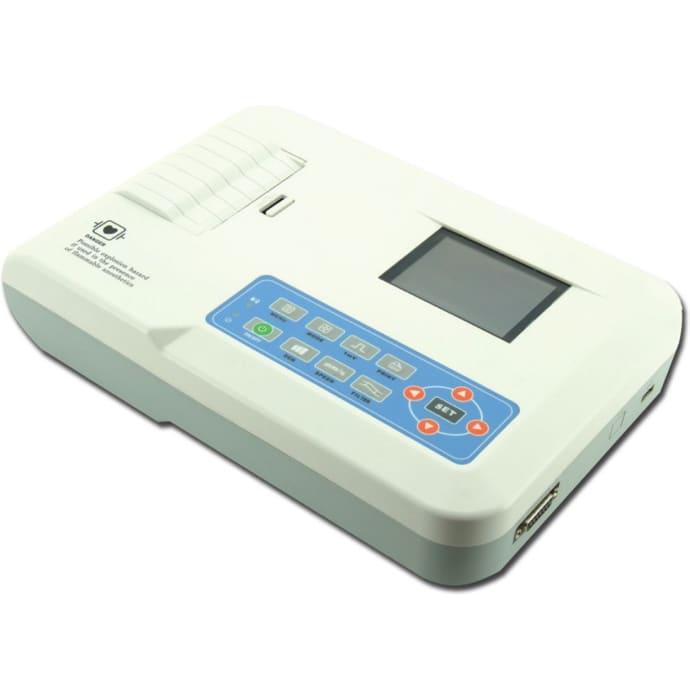 Niscomed Three Channel ECG Machine ECG 300GA White