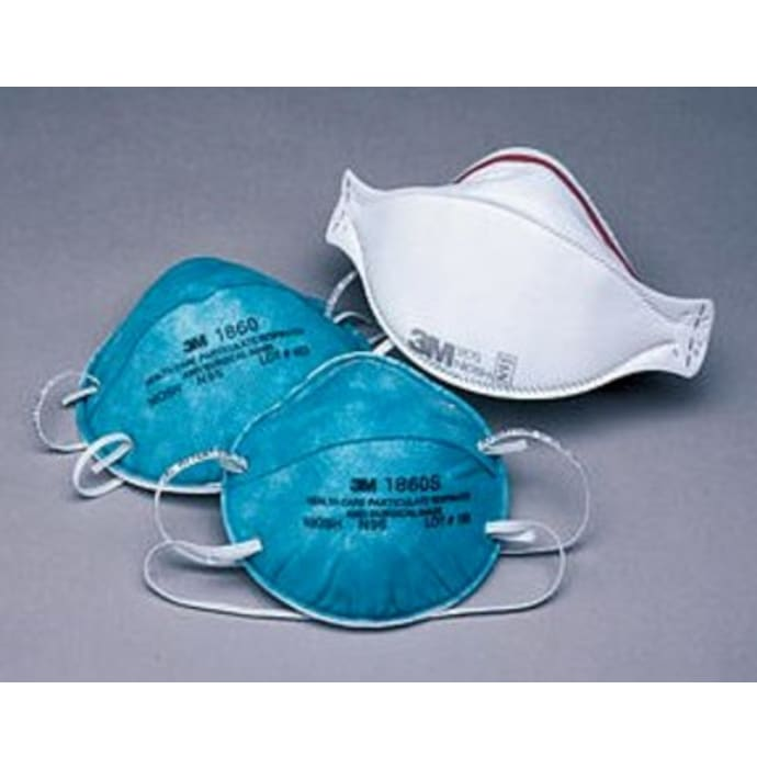 3M 1817 Standard Tie-On 3 Ply Surgical Mask