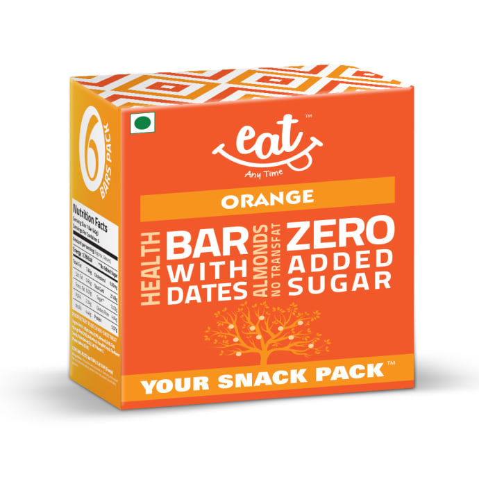 Eat Anytime Healthy Energy Bar Orange