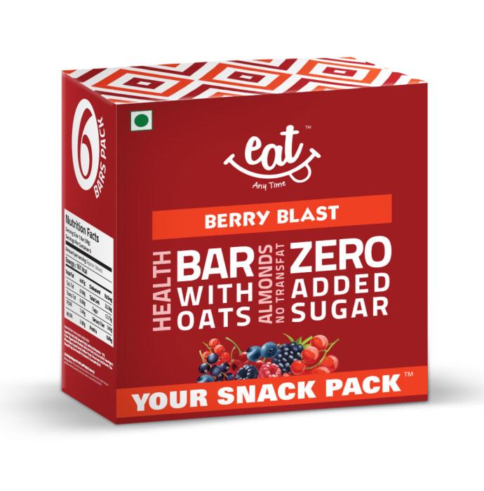 Eat Anytime Healthy Energy Bar Berry Blast