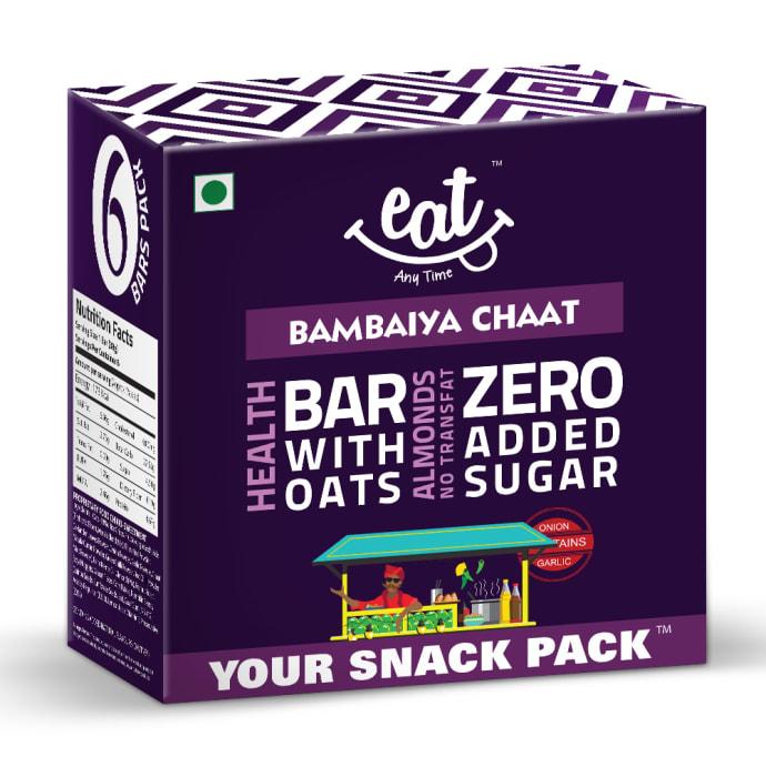 Eat Anytime Healthy Energy Bar Bambaiya Chaat