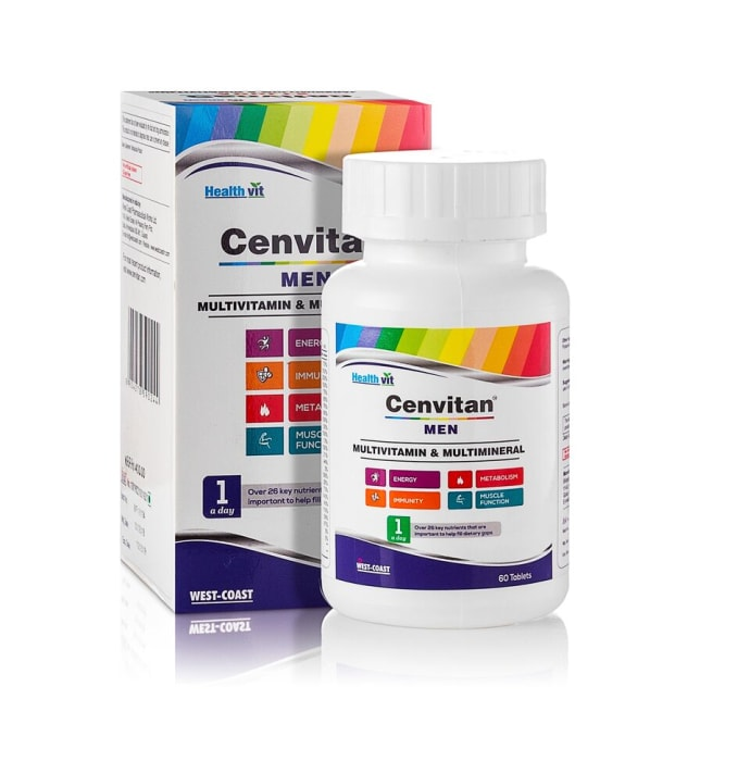 HealthVit Cenvitan Men Multivitamin & Multimineral Tablet