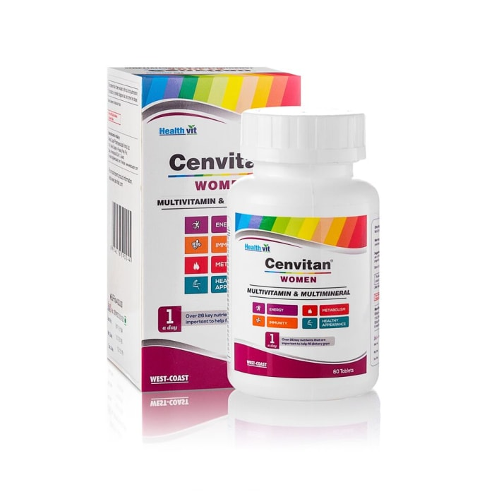 HealthVit Cenvitan Women Multivitamin & Multimineral Tablet