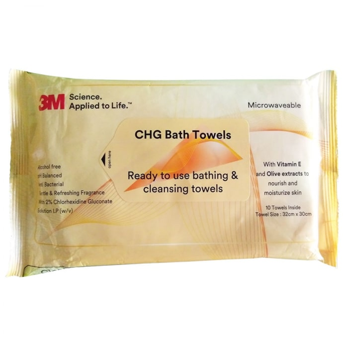 3M CHG Bath Towel
