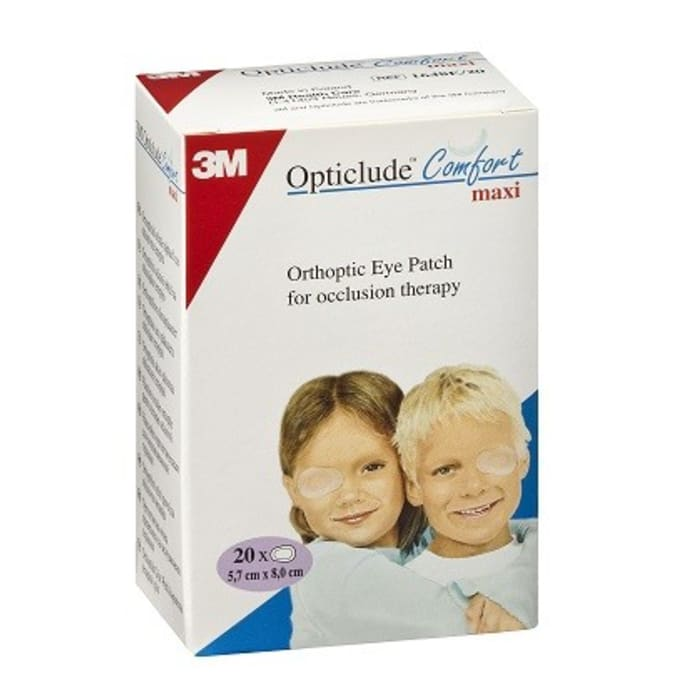 3M Opticlude Comfort Maxi Orthoptic Eye Patch