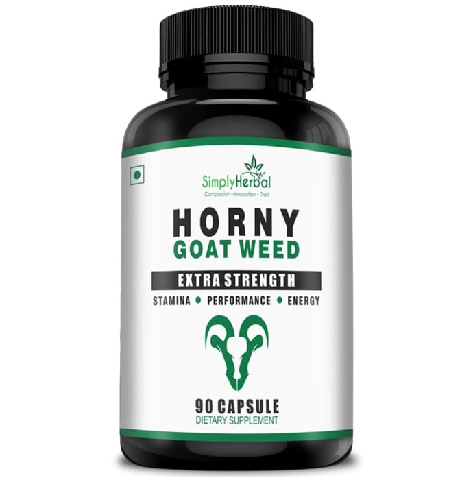 Simply Herbal Horny Goat Weed Extract Capsule