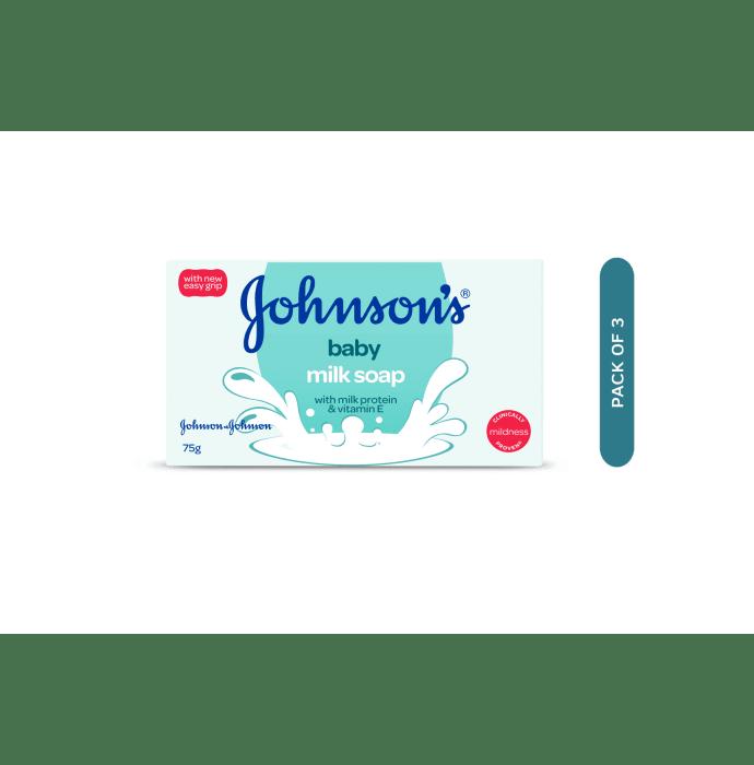 Johnsons Baby Milk Soap Pack of 3