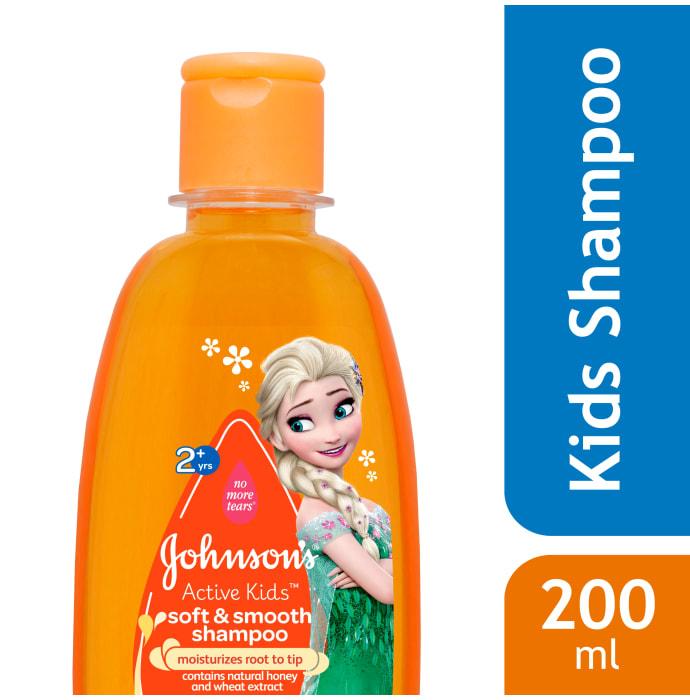 Johnsons Active Kids Soft & Smooth Shampoo