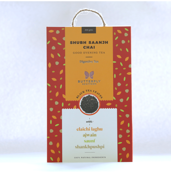 Butterfly Ayurveda Shubh Saanjh Chai Black Tea Leaves