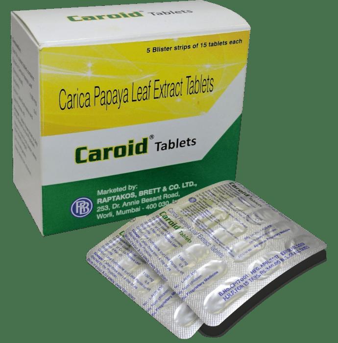 Caroid Tablet