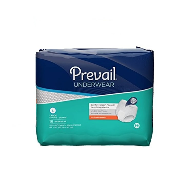 Prevail Underwear Adult Diaper L