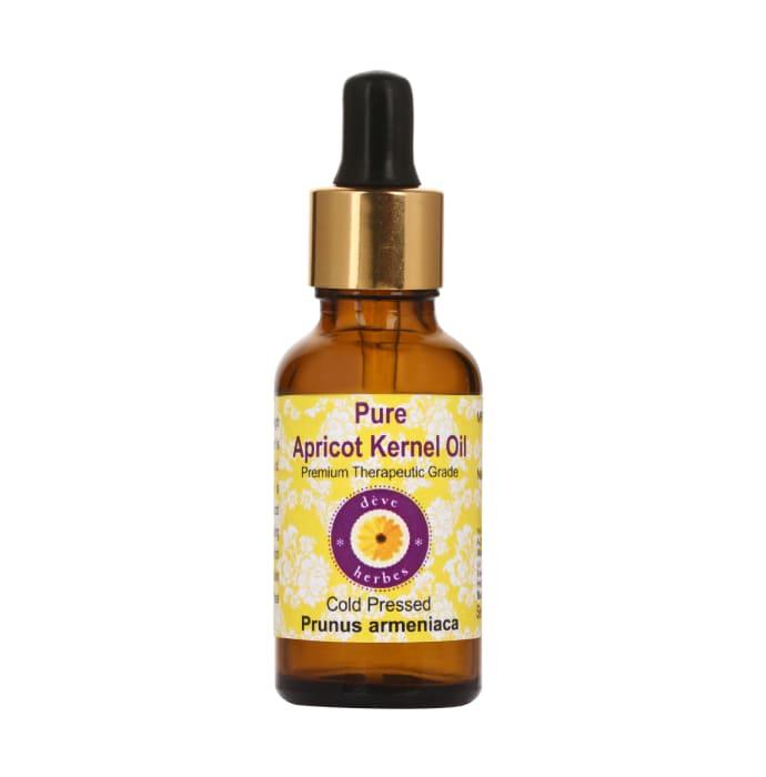 Deve Herbes Pure Apricot Kernel Oil