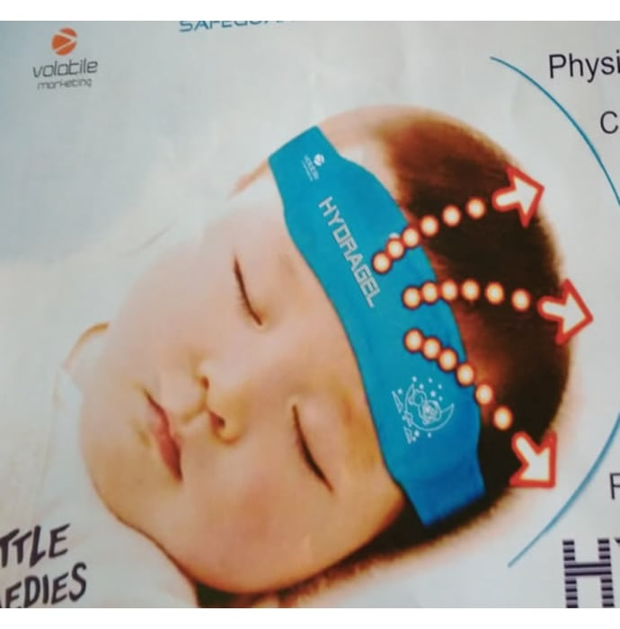 Volatile Marketing Hydragel Cooling Relief Gel Head Band