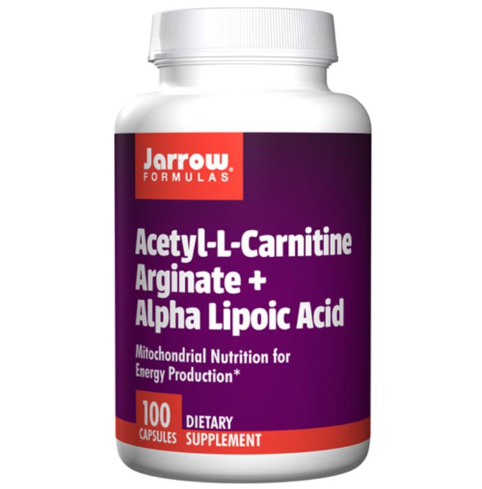 Jarrow Formulas Acetyl-L-Carnitine Arginate + Alpha Lipoic Acid Capsule
