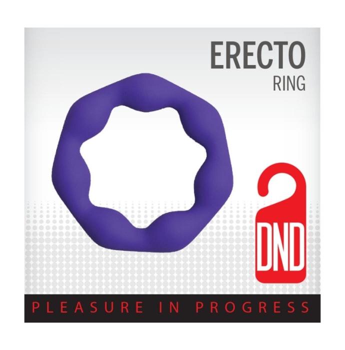 DND Erecto Cock Ring For Erection Delay