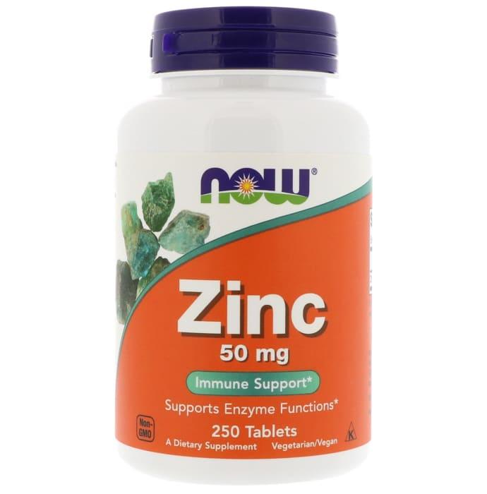 Now Zinc 50mg Tablet