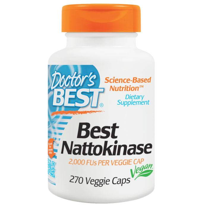 Doctor's Best Nattokinase 2000FUs Veggie Caps