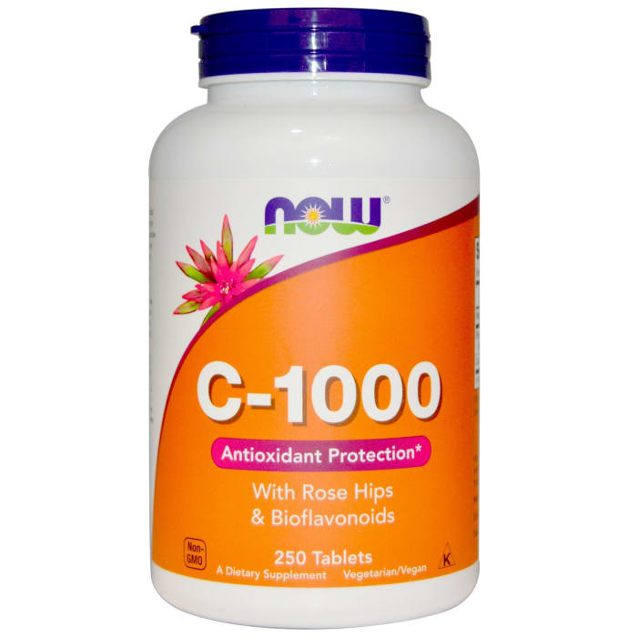 NOW Foods C-1000 with Rose Hips & Bioflavonoids Tablet