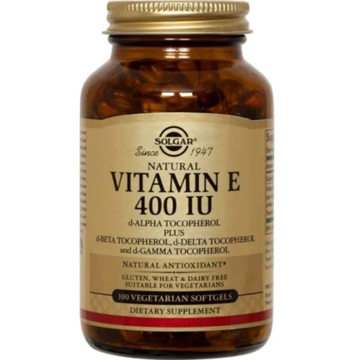 Solgar Vitamin E 400IU Vegetable Sofgels