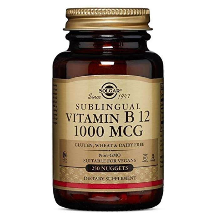 Solgar Sublingual Vitamin B12 1000mcg Nuggets