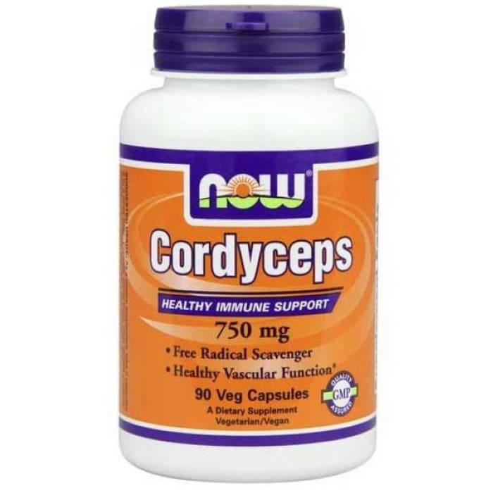 NOW Foods Cordyceps 750mg Veg Capsule