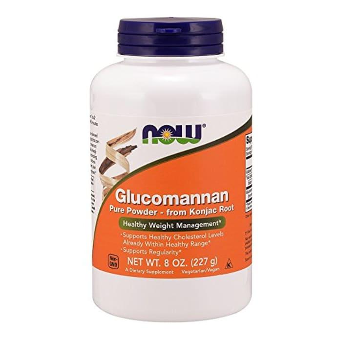 NOW Foods Glucomannan Pure Powder