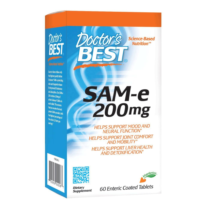 Doctor's Best SAM-e 200mg Enteric Coated Tablets