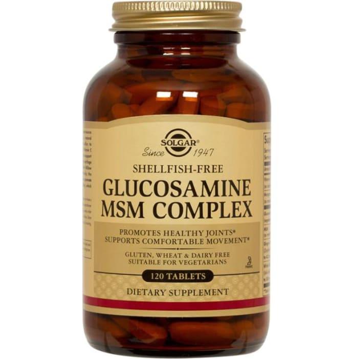 Solgar Glucosamine MSM Complex Tablet
