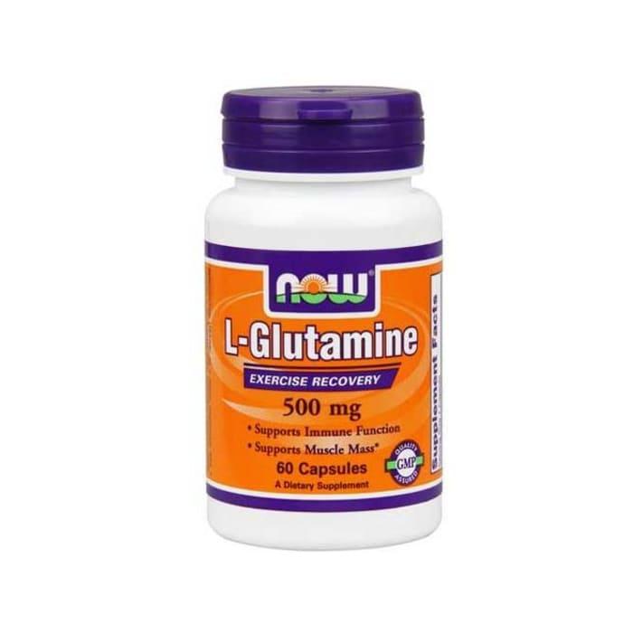 NOW Foods L-Glutamine 500mg Capsule
