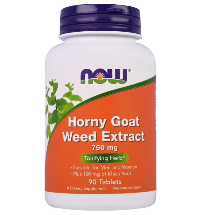 NOW Foods Horny Goat Weed Extract 750mg Tablet