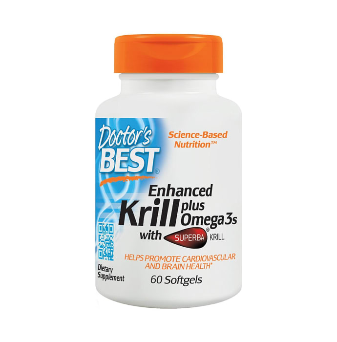 Doctor's Best Real Krill Enhanced with DHA & EPA Softgels