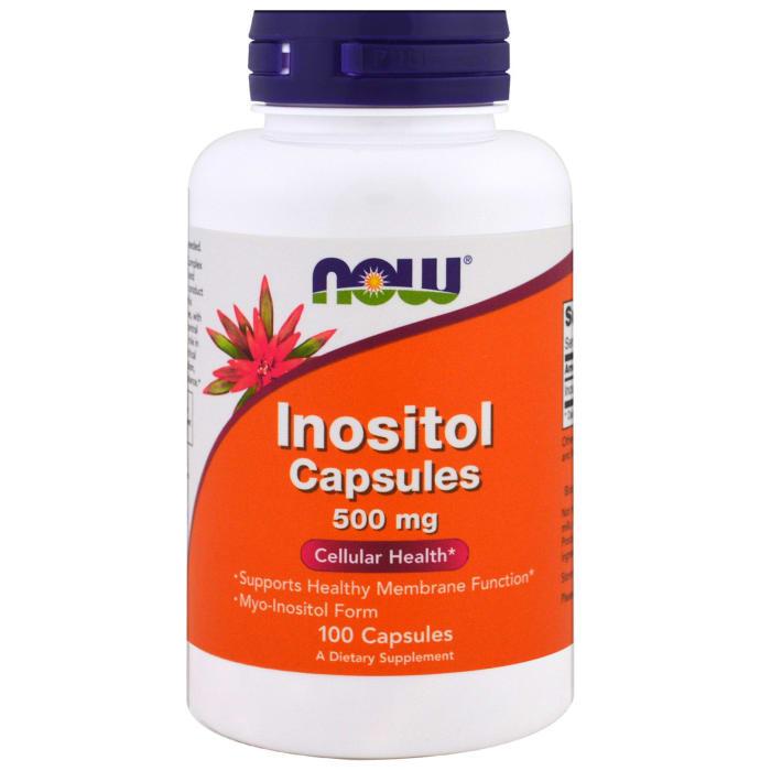 NOW Foods Inositol 500mg Capsule