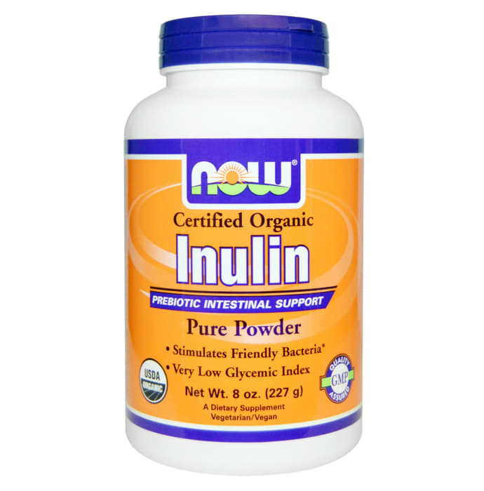 NOW Foods Inulin Pure Powder