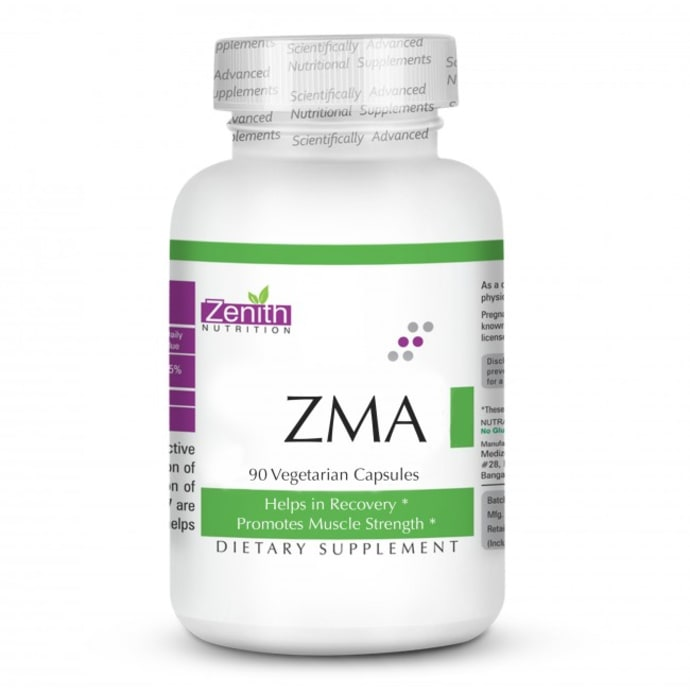 Zenith Nutrition ZMA Vegetarian Capsule