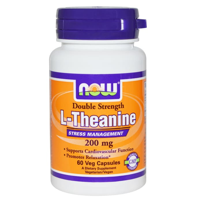 NOW Foods L-Theanine 200mg Veg Capsule