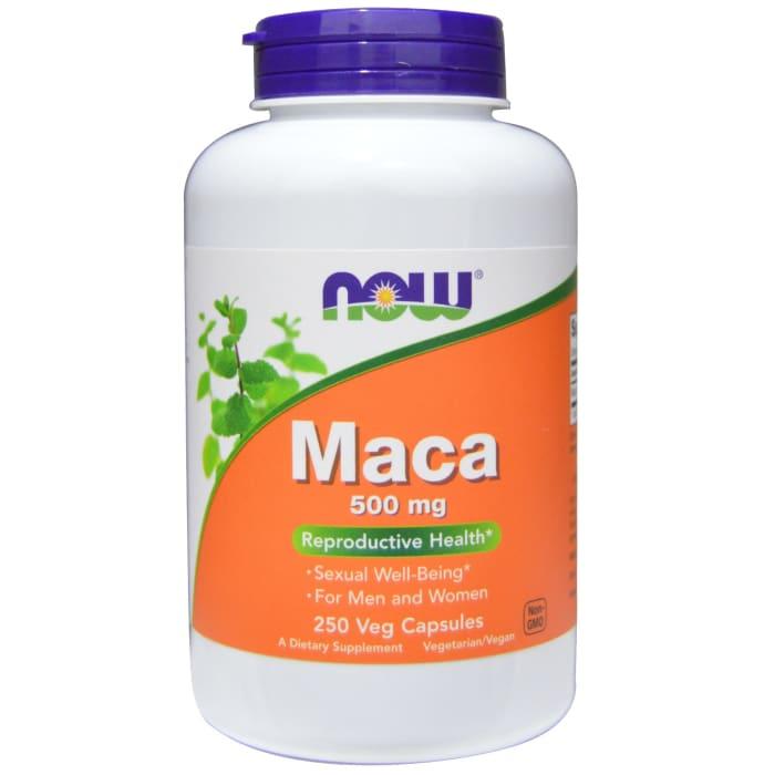 NOW Foods Maca 500mg Veg Capsule
