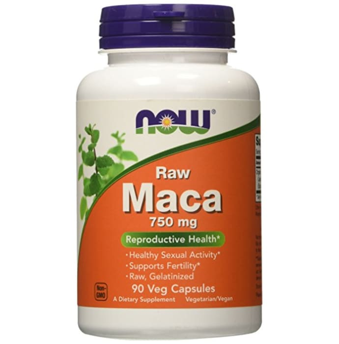 NOW Foods Raw Maca 750mg Veg Capsule