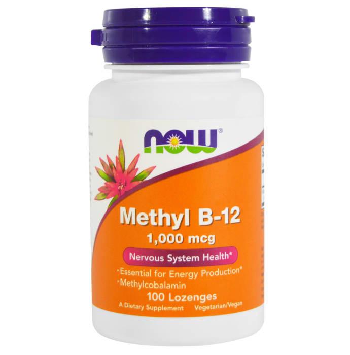 NOW Foods Methyl B-12 1000mcg Lozenges