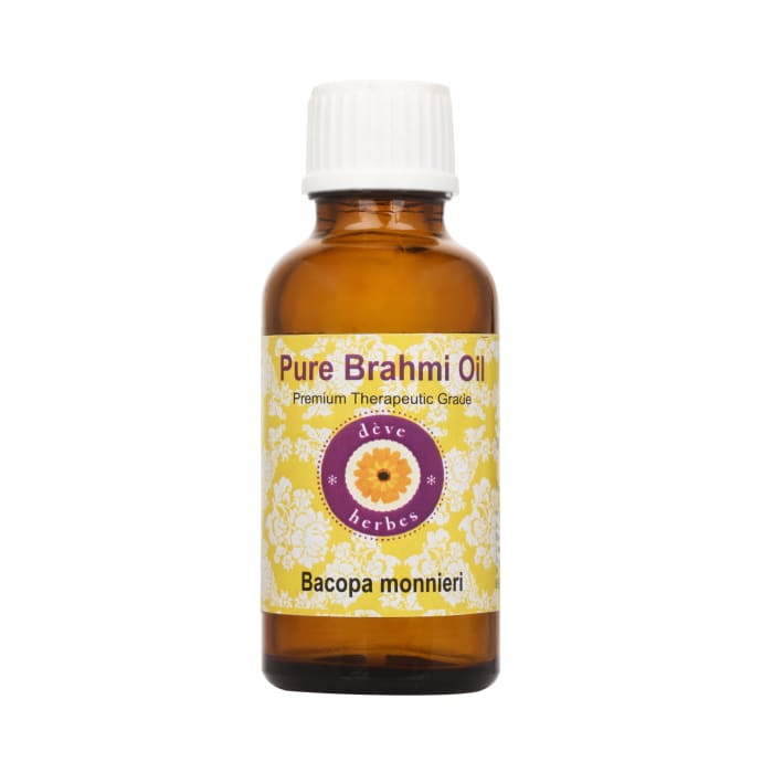 Deve Herbes Pure Brahmi Oil
