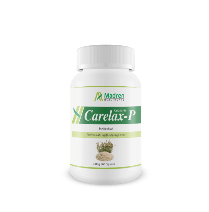 Madren Healthcare Carelax-P 500mg Capsule