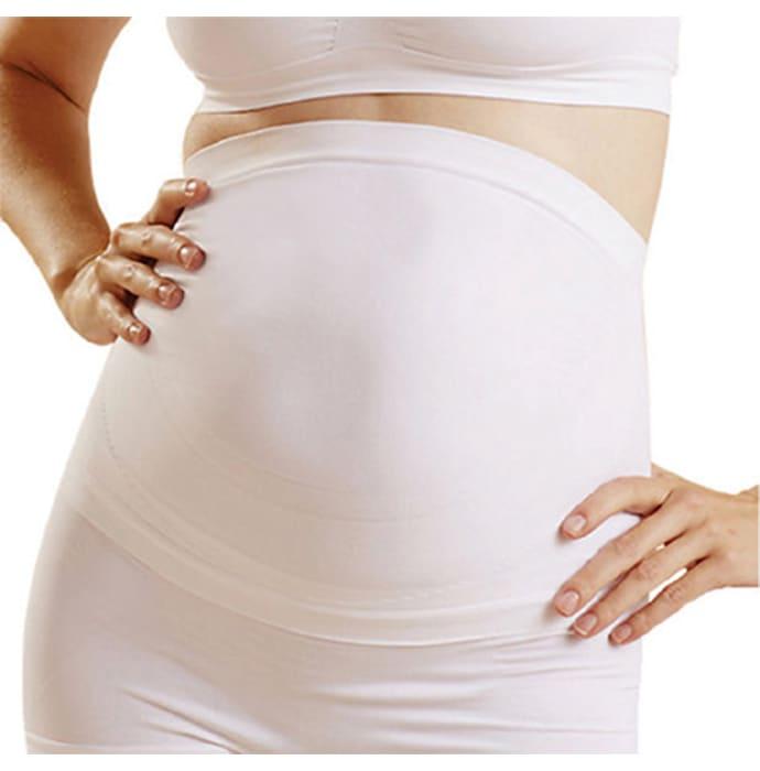 Newmom Seamless Maternity Support Belt L White