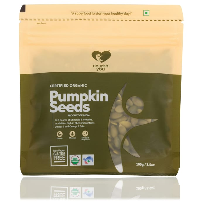 Nourish You Organic Pumpkin Seeds