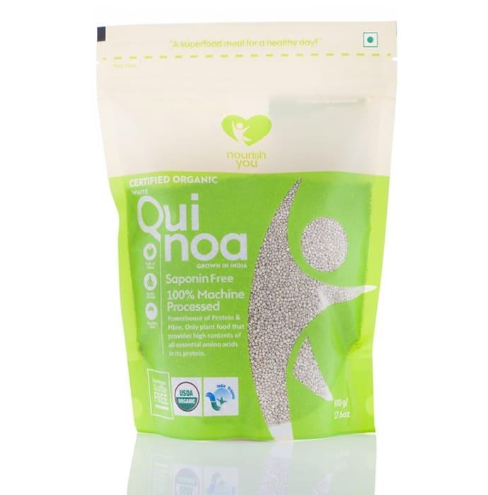 Nourish You Organic Premium White Quinoa Seeds