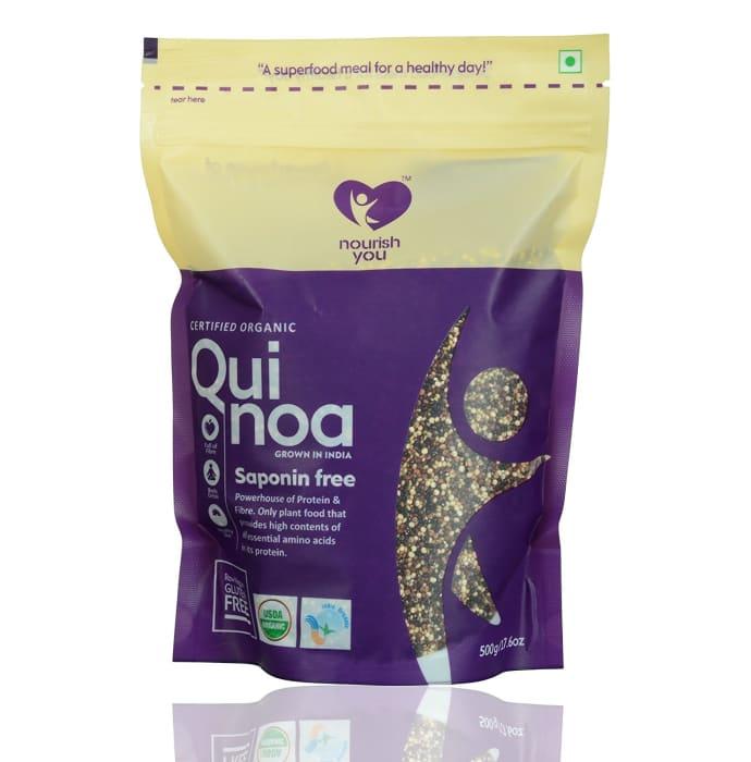 Nourish You Organic Tricolour Quinoa