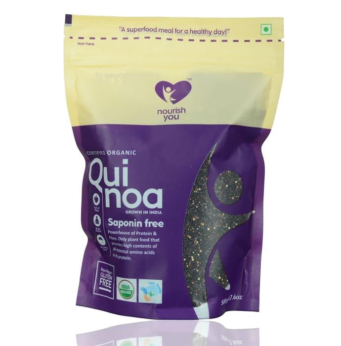 Nourish You Organic Black Quinoa Seeds