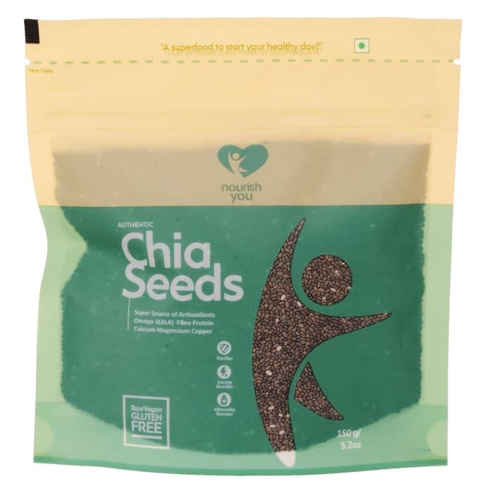 Nourish You Organic Black Chia Seeds