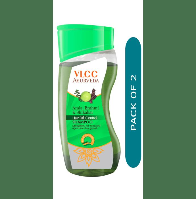 VLCC Ayurveda Amla, Brahmi & Shikakai Hair Fall Control Shampoo