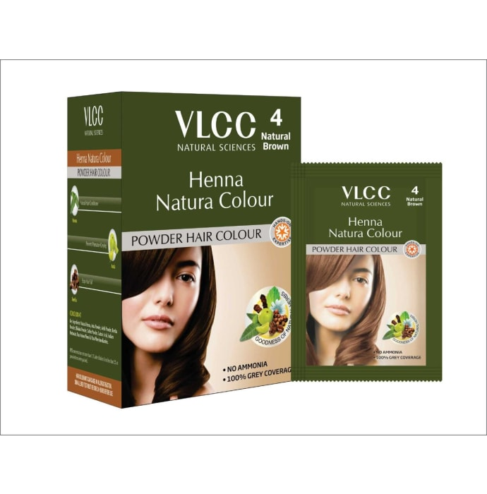 VLCC Natural Sciences Henna Natura Colour Natural Brown