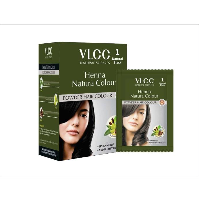 VLCC Natural Sciences Henna Natura Colour Natural Black
