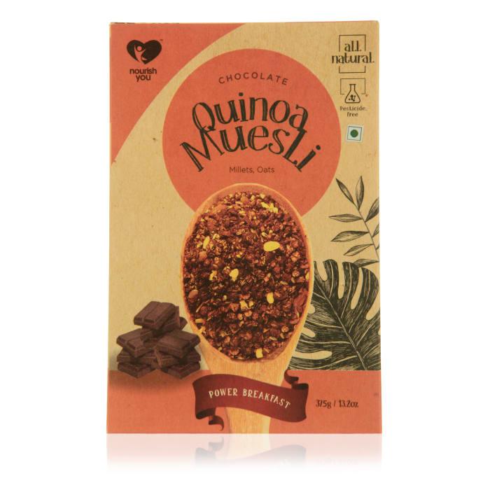 Nourish You Quinoa Muesli - Chocolate